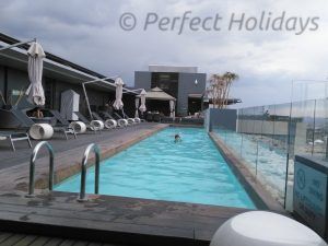 Pool, Hilton, Windhoek